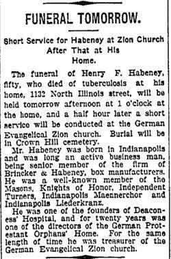 Henry F Habeney