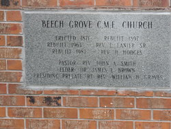 Beech Grove CME Church Cemetery