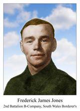 Pvt Frederick James Jones