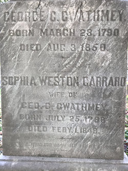 Sophia Weston <I>Garrard</I> Gwathmey