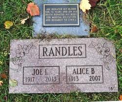 Joe L Randles