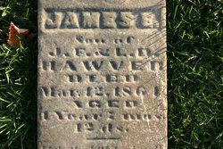 James E Hawver