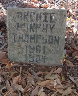 Archie Murphy Thompson