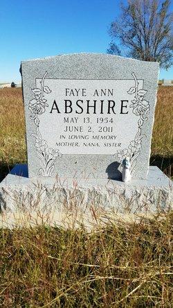 Faye Ann <I>Weber</I> Abshire