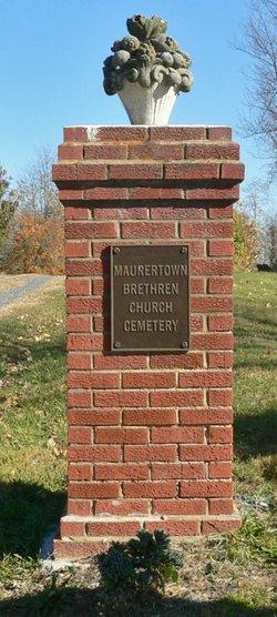 Maurertown Brethren Church Cemetery