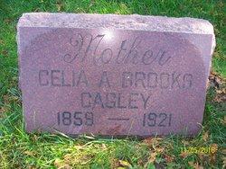Celia A <I>Brooks</I> Cagley