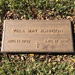 Vera May <I>Dickson</I> Johnson