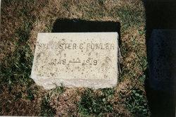 Sylvester Crossman Fowler