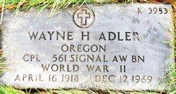 Wayne Herbert Adler