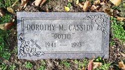 """Dorothy M. """"Dottie"""" <I>Short</I> Cassidy"""
