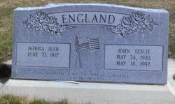 John Leslie England