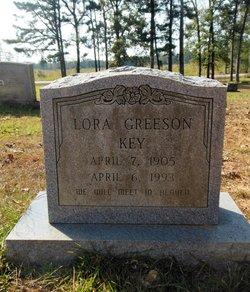 Lora <I>Greeson</I> Key