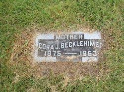 Cora Jane <I>Miller</I> Becklehimer