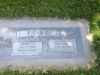 Lois <I>Jordan</I> Ford