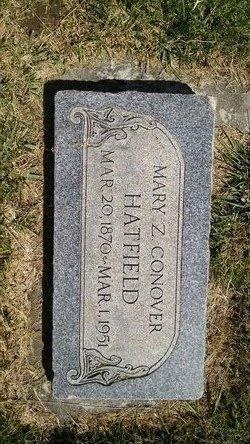 Mary Zerelda <I>Conover</I> Hatfield