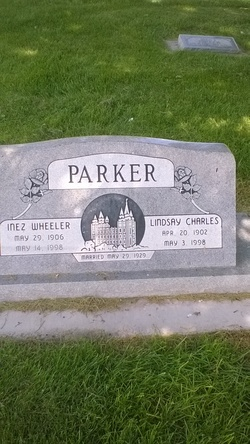 Inez <I>Wheeler</I> Parker