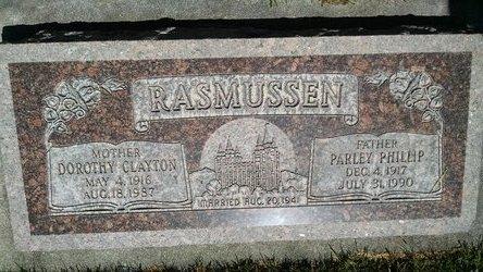 Parley Phillip Rasmussen