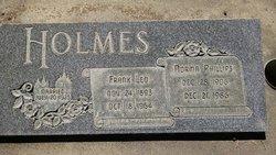 Norma M <I>Phillips</I> Holmes