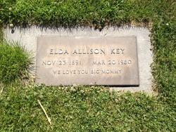 Elda A <I>Allison</I> Key