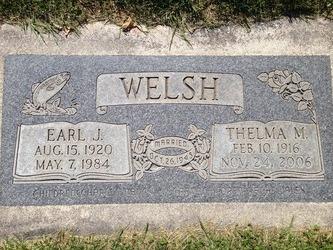 Earl J Welsh