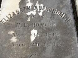Elizabeth <I>Abercrombie</I> Howard