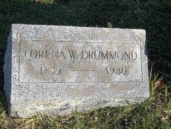 Lorena <I>Weller</I> Drummond
