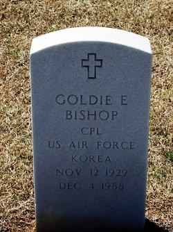 Goldie E Bishop