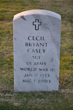 Sgt Cecil Bryant Casey