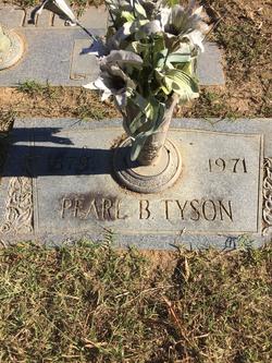 Pearl <I>Brown</I> Tyson