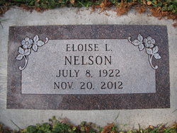 Eloise Luella <I>Rank</I> Nelson