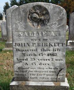 """Sarah A. """"Sallie"""" Birkitt"""