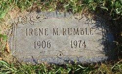Irene M. <I>Roupe</I> Rumble