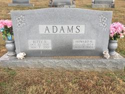 Howard Hampton Adams, Sr