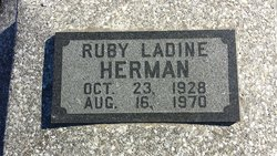 Ruby Ladine <I>McElwain</I> Herman