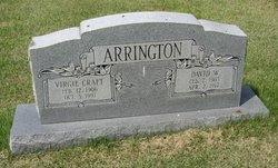 Virgie I. <I>Craft</I> Arrington