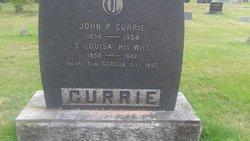 Sarah Louisa <I>Segee</I> Currie