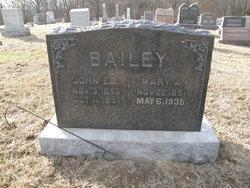Mary Arvilla <I>Feaster</I> Bailey