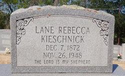 Lane Rebecca <I>Young</I> Kieschnick