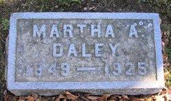 Martha Ann <I>Stevenson</I> Daley