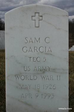 Sam C Garcia