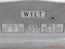 Cleo E <I>Bowling</I> Wilt