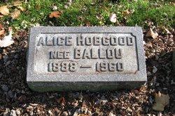 Alice Rae <I>Ballou</I> Hobgood
