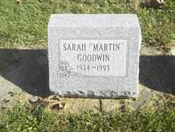 Sarah <I>Martin</I> Goodwin