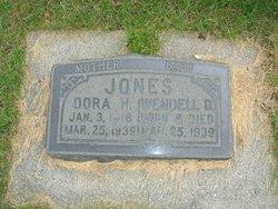 Dora <I>Hutchings</I> Jones