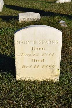 Mary G Sparks