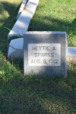 Hettie A Sparks