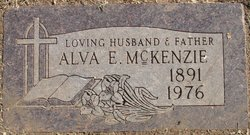 Alva E McKenzie