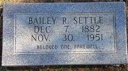 Bailey R Settle