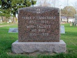 Mary Minerva <I>Talcott</I> Timmerman