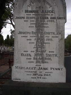 Margaret Jane <I>Smith</I> Penny